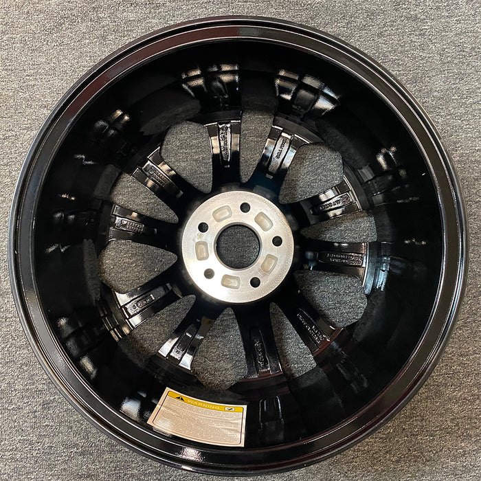 "Single 18"" Machined Black Wheel For 2013-2015 Honda Accord OEM Quality Factory Alloy Rim 64048"