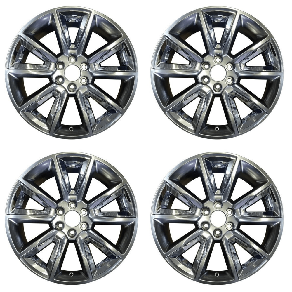 "SET OF 4 22"" Wheel For 2015-2020 GMC Chevrolet Silverado 1500 Suburban Tahoe OEM Quality Alloy Rim 5696"