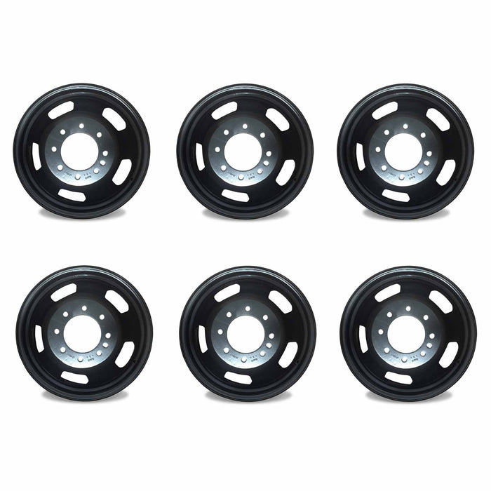 "SET OF 6 17"" Dually Wheel For 2003-2018 Dodge Ram 3500 SUPER DUTY DRW OEM Quality 2191"