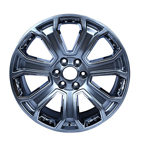 "Single 22"" Wheel for 2014-2017 Chevy Silverado Suburban GMC Sierra OEM Quality Factory Alloy Rim 5660"