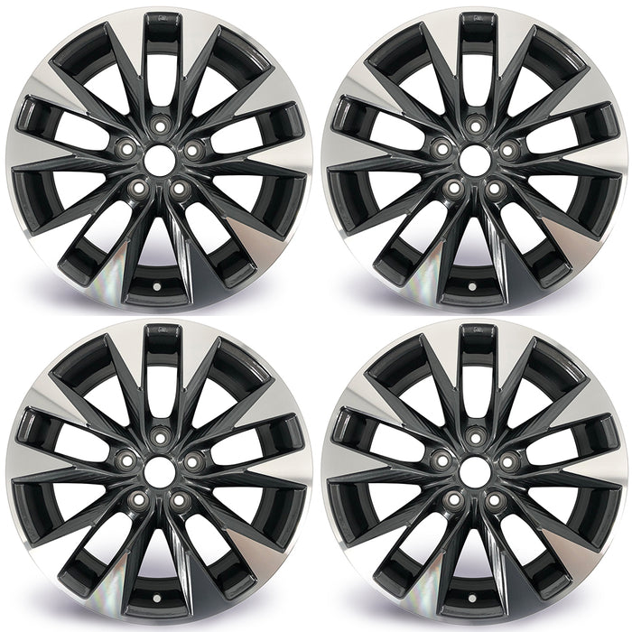 "SET OF 4 17"" Wheel For 2016-2019 Nissan Sentra OEM Quality Factory Alloy Rim 62758"