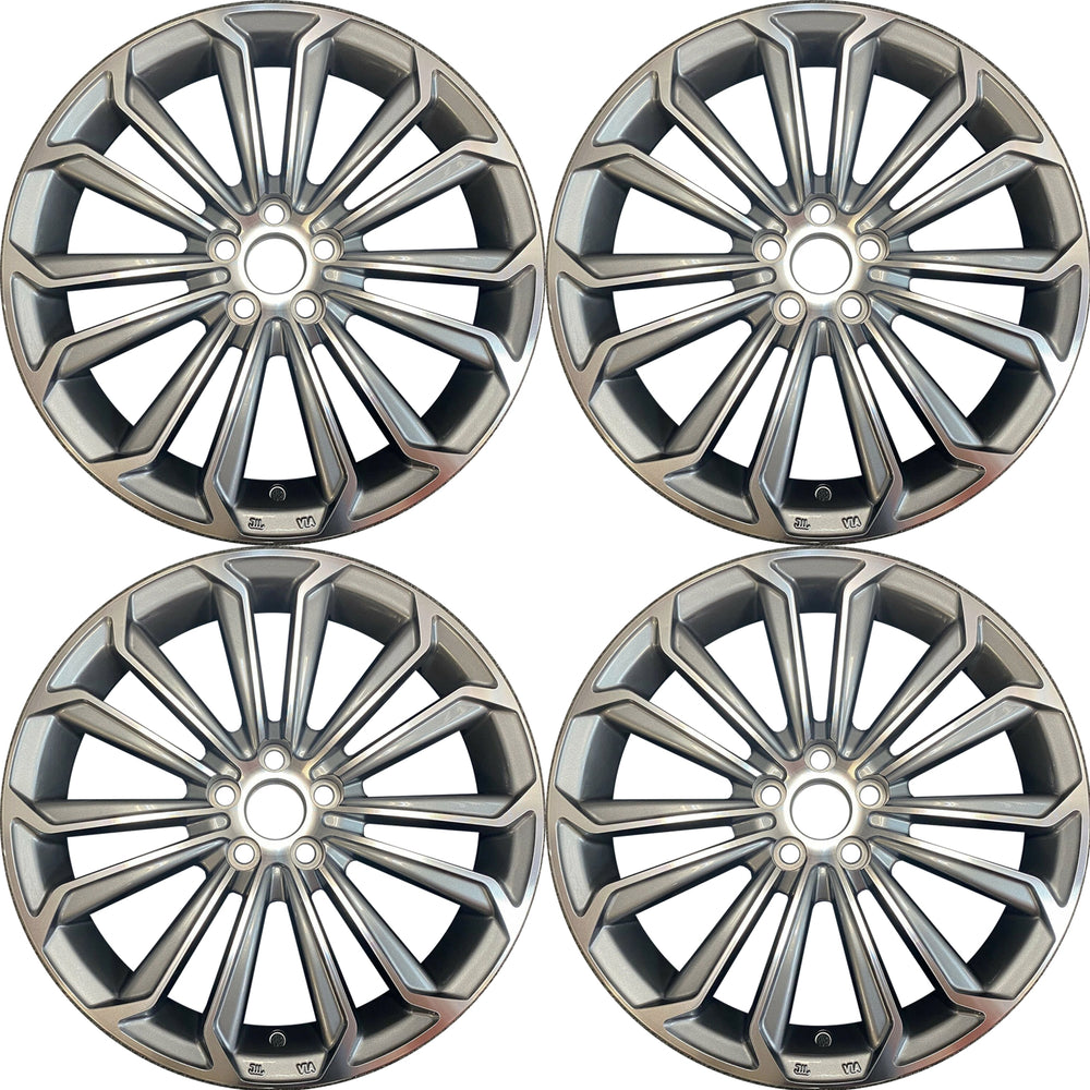"SET OF 4 GRAY New 17"" Wheel For 2014-2016 Toyota Corolla OEM QUALITY ALLOY RIM 75152"
