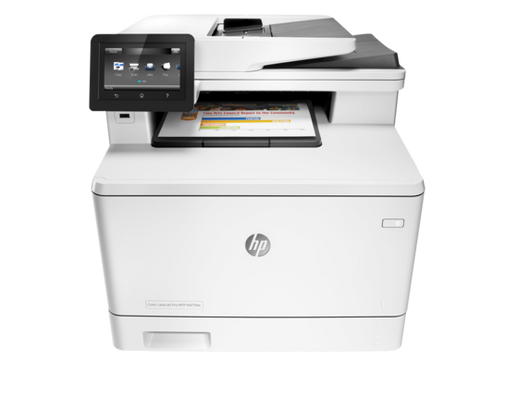 Printer -- HP Color LaserJet Pro MFP M477fdn