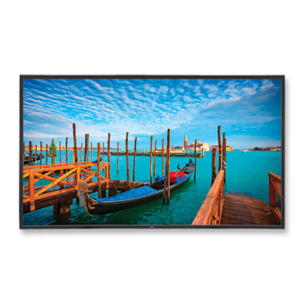 "Television -- NEC 55"" High-Performance LED Backlit Commercial-Grade Display w/ Integrated Speakers"