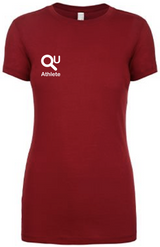 Ladies Custom QU Athlete T-Shirt