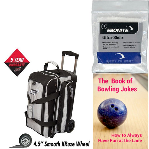 Columbia Icon Double Roller Silver Bowling Bag