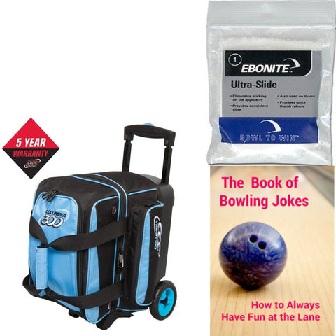 Columbia Icon Single Roller Blue Bowling Bag