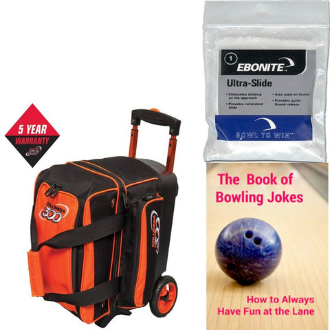Columbia Icon Single Roller Orange Bowling Bag