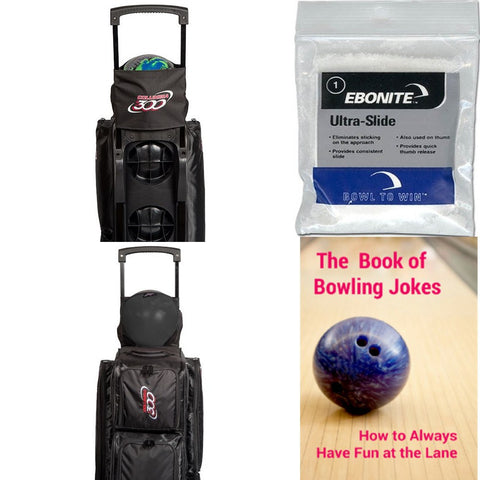 Columbia Joey Black Bowling Bag