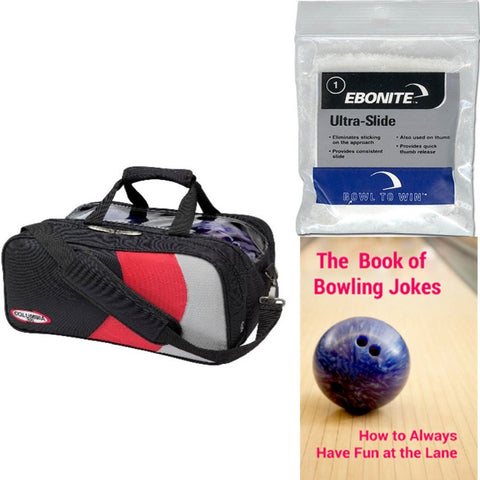 Columbia Pro Series 2 Ball Tote W/Shoe Pocket Bowling Bag