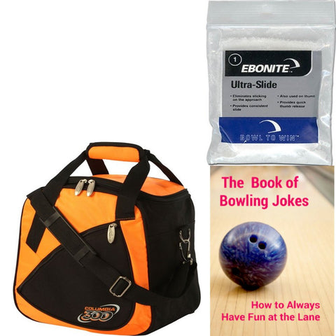 Columbia Team C300 Single Tote Orange Bowling Bag
