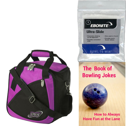Columbia Team C300 Single Tote Purple Bowling Bag