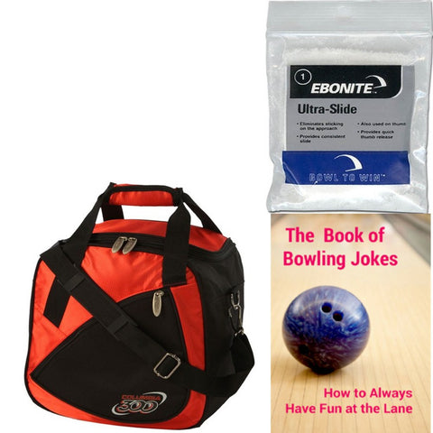 Columbia Team C300 Single Tote Red Bowling Bag