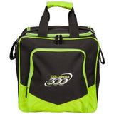 Bowling Bags - Columbia White Dot Single Tote Lime + 2 Free Gifts