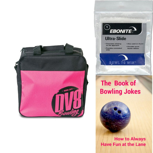 DV8 Freestyle Single Tote Pink Bowling Bag