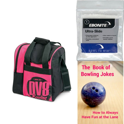 DV8 Tactic Single Tote Pink Bowling Bag