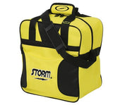 Bowling Bags - Storm Solo Single Tote Yellow/Black + 2 Free Gifts