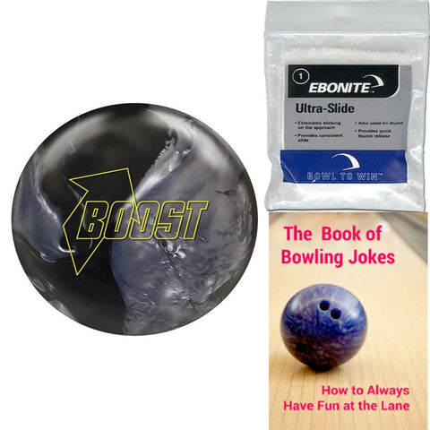 900 Global Boost Black/Silver Bowling Ball