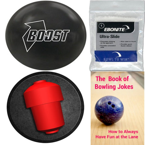 900 Global Boost Black Solid Bowling Ball