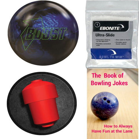 900 Global Boost Blue/Black Hybrid Bowling Ball