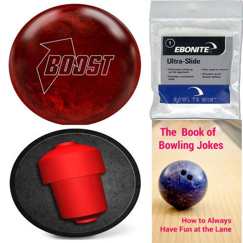 900 Global Boost Cardinal Red Pearl Bowling Ball
