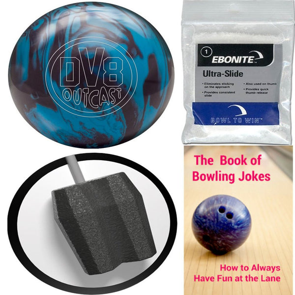 DV8 Outcast Blue Bruiser Bowling Ball
