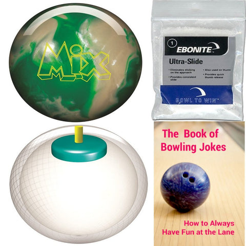 Storm Mix Urethane Green/White Bowling Ball