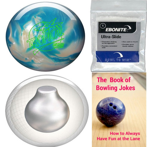 Storm Tropical Storm White/Blue Bowling Ball