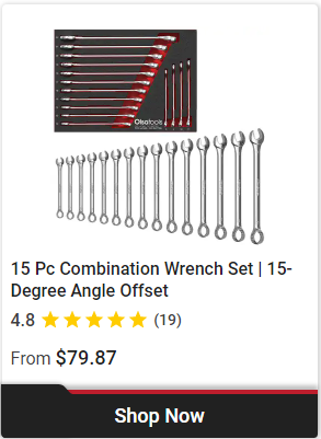 Professional-Grade Combination Wrenches-Olsa Tools