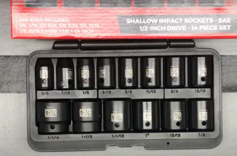 Impact Sockets With Case