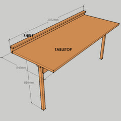 DIY Custom WorkTable
