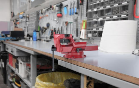 Handle Of The Best Bench Vise
