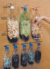 DIY Plastic Bottle Tool Organizer