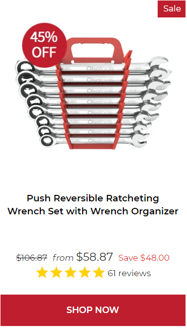 Professional Push Reversible Wrench