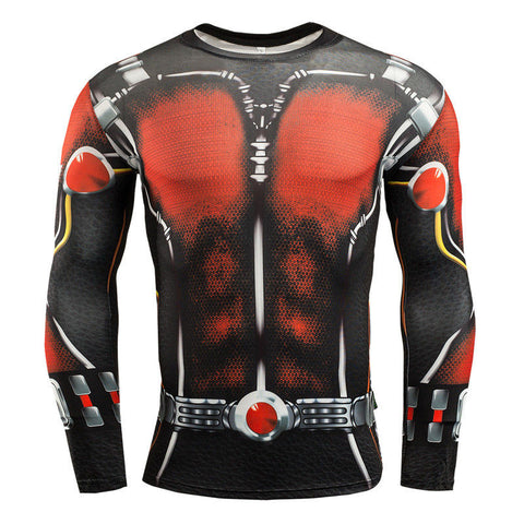 Ant-Man 3D Printed Compression Shirt