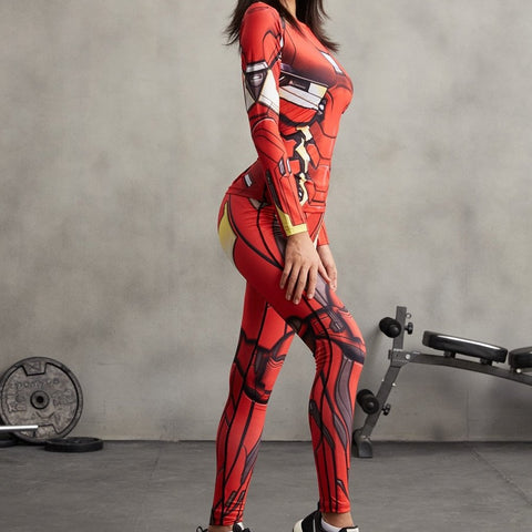 Iron Man Suit  3D Printed Leggings