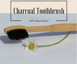 Quality Charcoal Fiber Natural Wooden Toothbrush