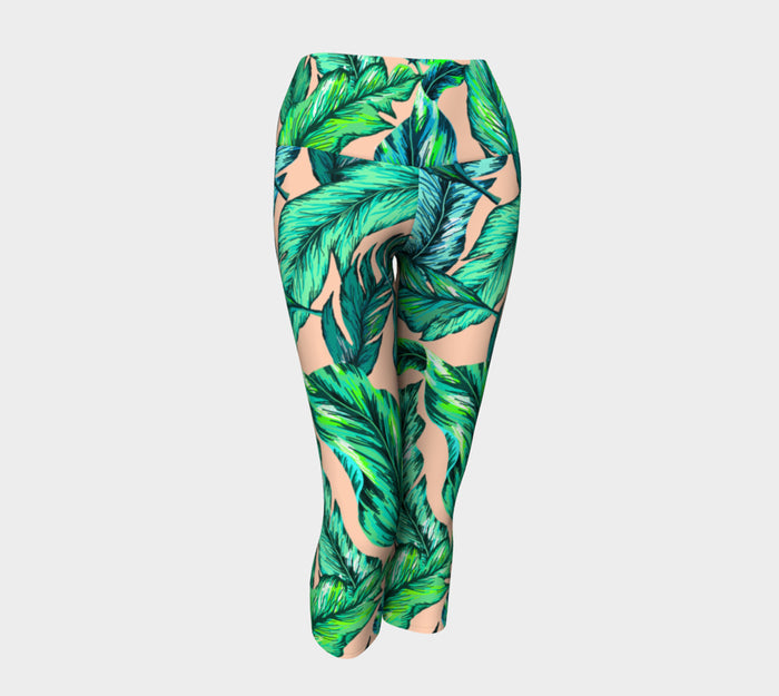 Quarter Courtyard Capri Pants
