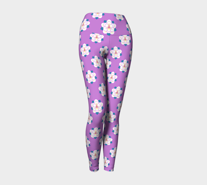 Magnolia Yoga Pants, Leggings