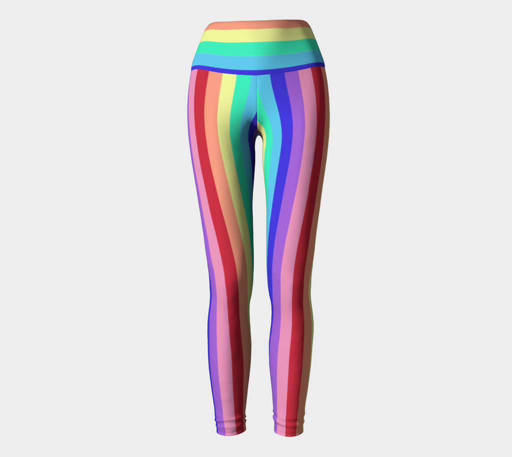 Nola Pride Rainbow Yoga Pants