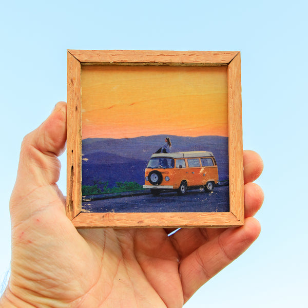 Mountain Serenity - Mini Magnet