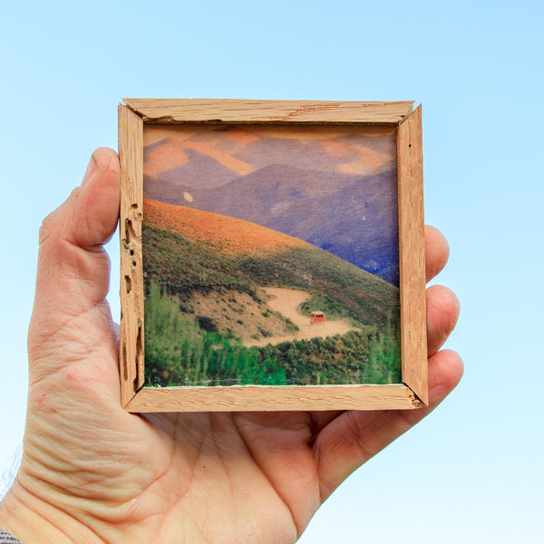Onward Mountains - Mini Magnet