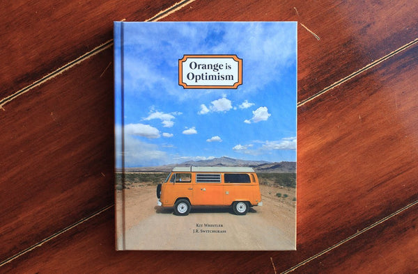 Orange is Optimism Hardcover Book