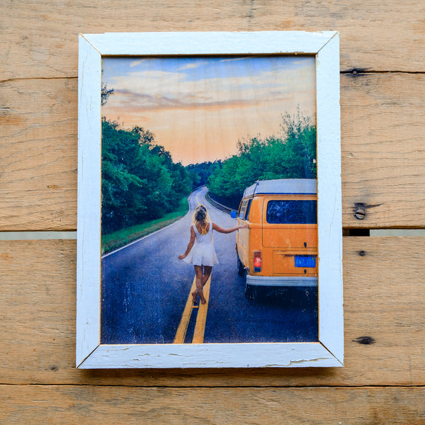 Adventure Awaits - Handmade Wood Print
