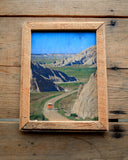 Into The Badlands -  - Handmade Wood Print