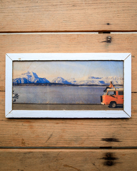 Mountain Majesty - Handmade Wood Print