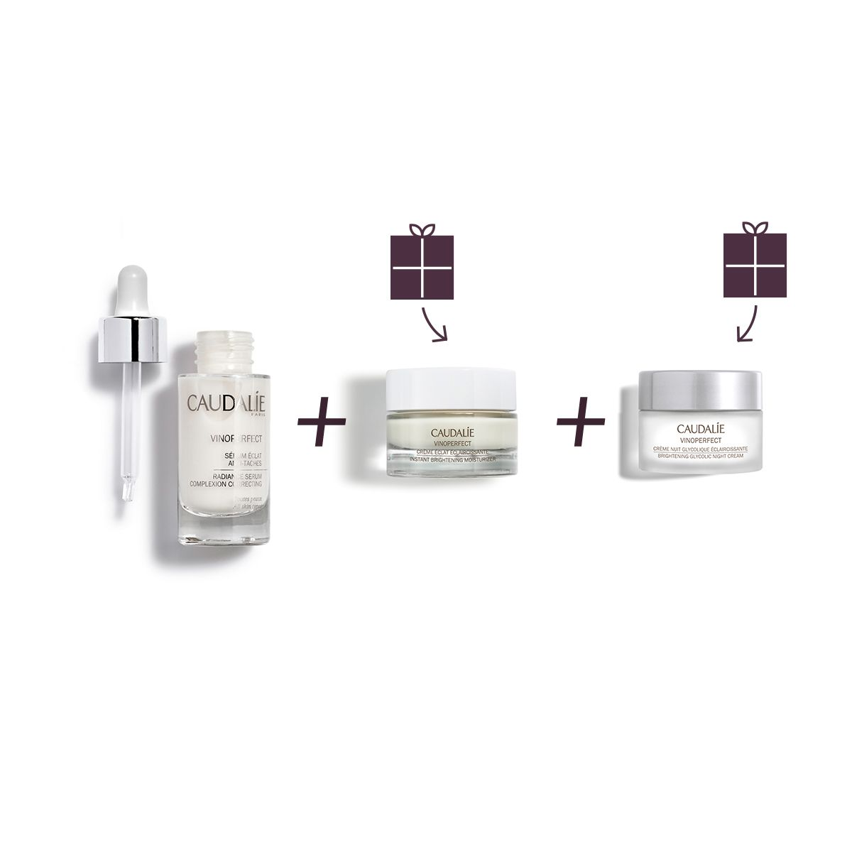 Vinoperfect Instant Brightening Cults Set