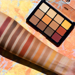 10 Warm Mattes Eyeshadow Palette