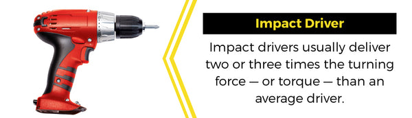 impact driver banner