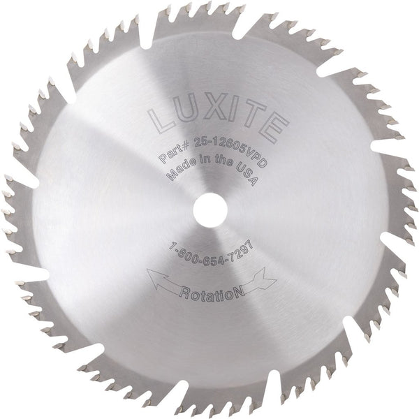luxite carbide tip combination circular saw blade